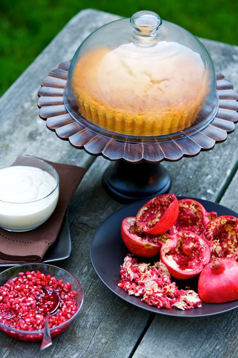 pomegranate cake 26