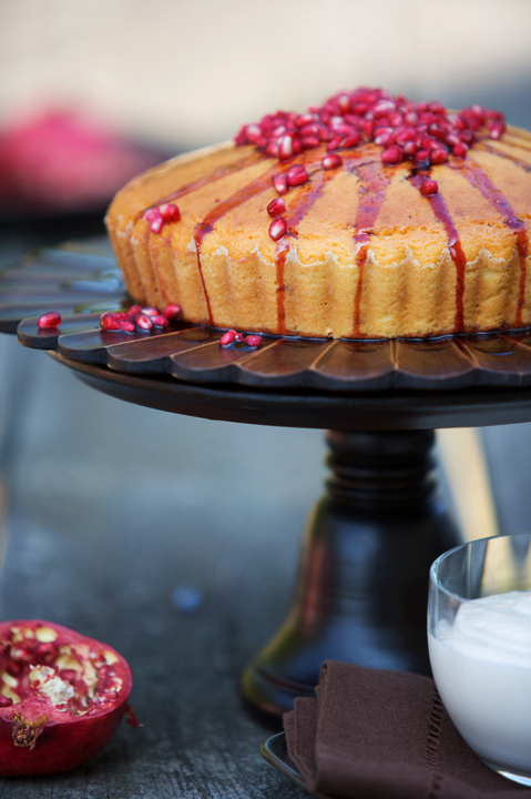pomegranate cake 40